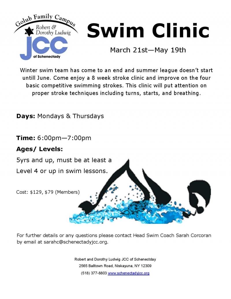 Swim Team - Schenectady Jewish Community Center